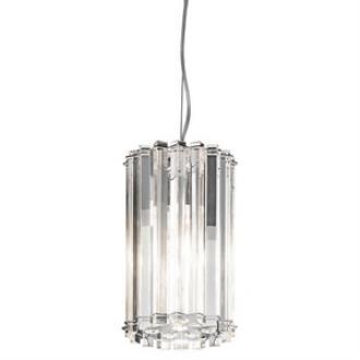 Kichler Lighting 42174CH Crystal Skye - One Light Mini-Pendant