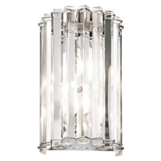 Kichler Lighting 42175CH Crystal Skye - Two Light Wall Sconce
