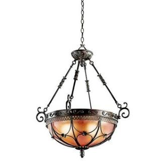 Kichler Lighting 42229TRZ Marchesa - Three Light Inverted Pendant
