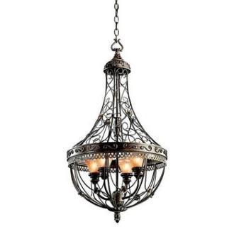 Kichler Lighting 42230TRZ Marchesa - Four Light Foyer Chandelier