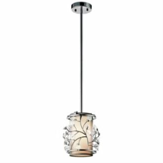 Kichler Lighting 42390CH Jardine - One Light Mini-Pendant