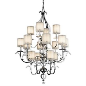 Kichler Lighting 42392CH Jardine - Sixteen Light Chandelier