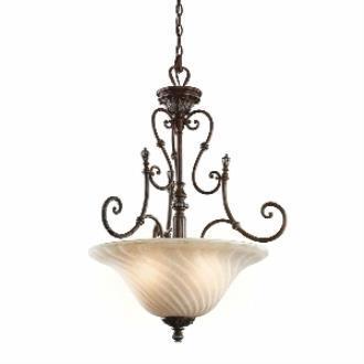 Kichler Lighting 42513LZ Sarabella - Three Light Inverted Pendant