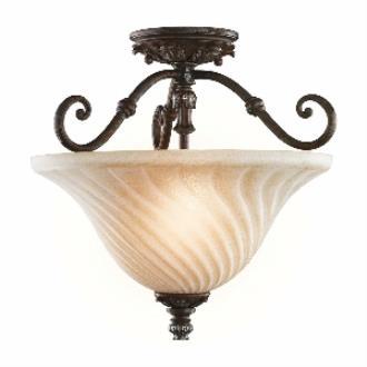 Kichler Lighting 42514LZ Sarabella - Two Light Semi-Flush Mount