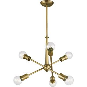 Armstrong - Six Light Small Chandelier