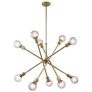 Armstrong - Ten Light Rectangular Chandelier