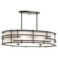 Tremba - Six Light Oval Pendant