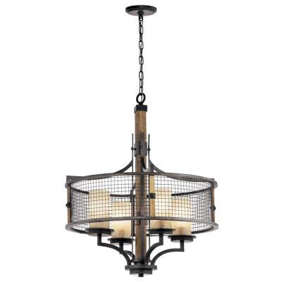Kichler Lighting 43582AVI Ahrendale - Four Light Chandelier