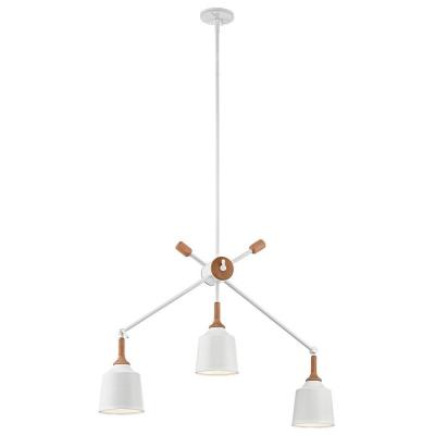 Kichler Lighting 43680WH Danika - Three Light Linear Chandelier