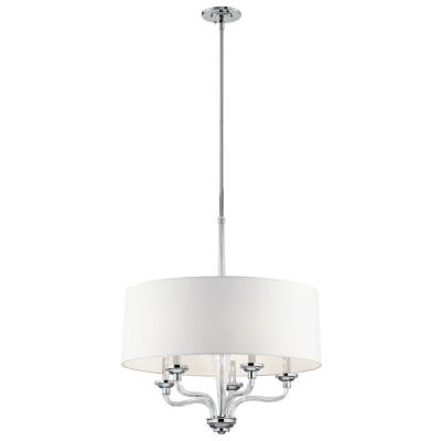 Kichler Lighting 43807CH Loula - Five Light Small Chandelier