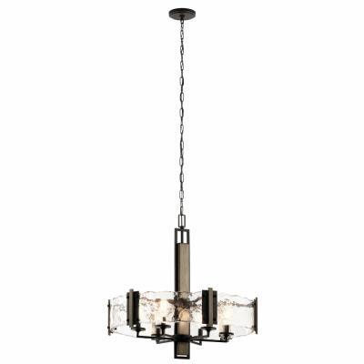 Kichler lighting 43895oz aberdeen six light chandelier mozeypictures Gallery