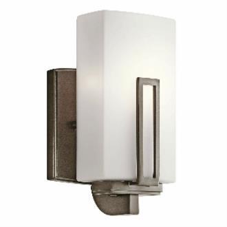 Kichler Lighting 45224SWZ Leeds - One Light Wall Sconce