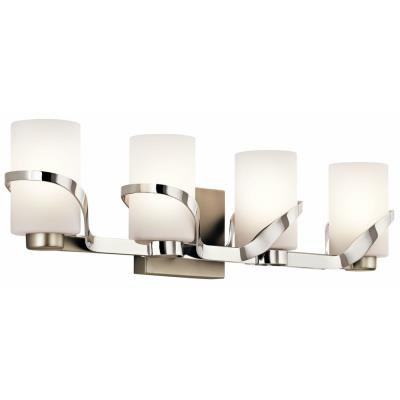 Kichler Lighting 45630PN Stelata - Four Light Bath Vanity