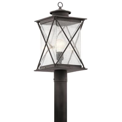 "Kichler Lighting 49746WZCL16 Argyle - 19.50"" 9W 1 LED X-Large Outdoor Post Lantern"