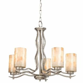 Kichler Lighting 66050 Modern Mosaic - Five Light Chandelier