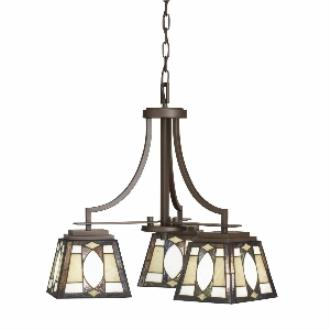 Kichler Lighting 66121 Denman - Three Light Chandelier