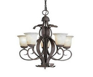 Kichler Lighting - 9818OI - High Country - Five Light Outdoor Chandelier