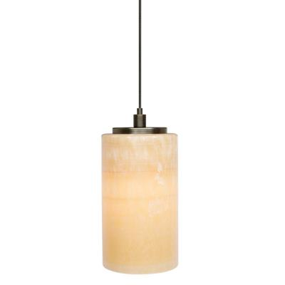 Lbl lighting hs176 mr2 onyx cylinder 2 circuit monorail low voltage pendant