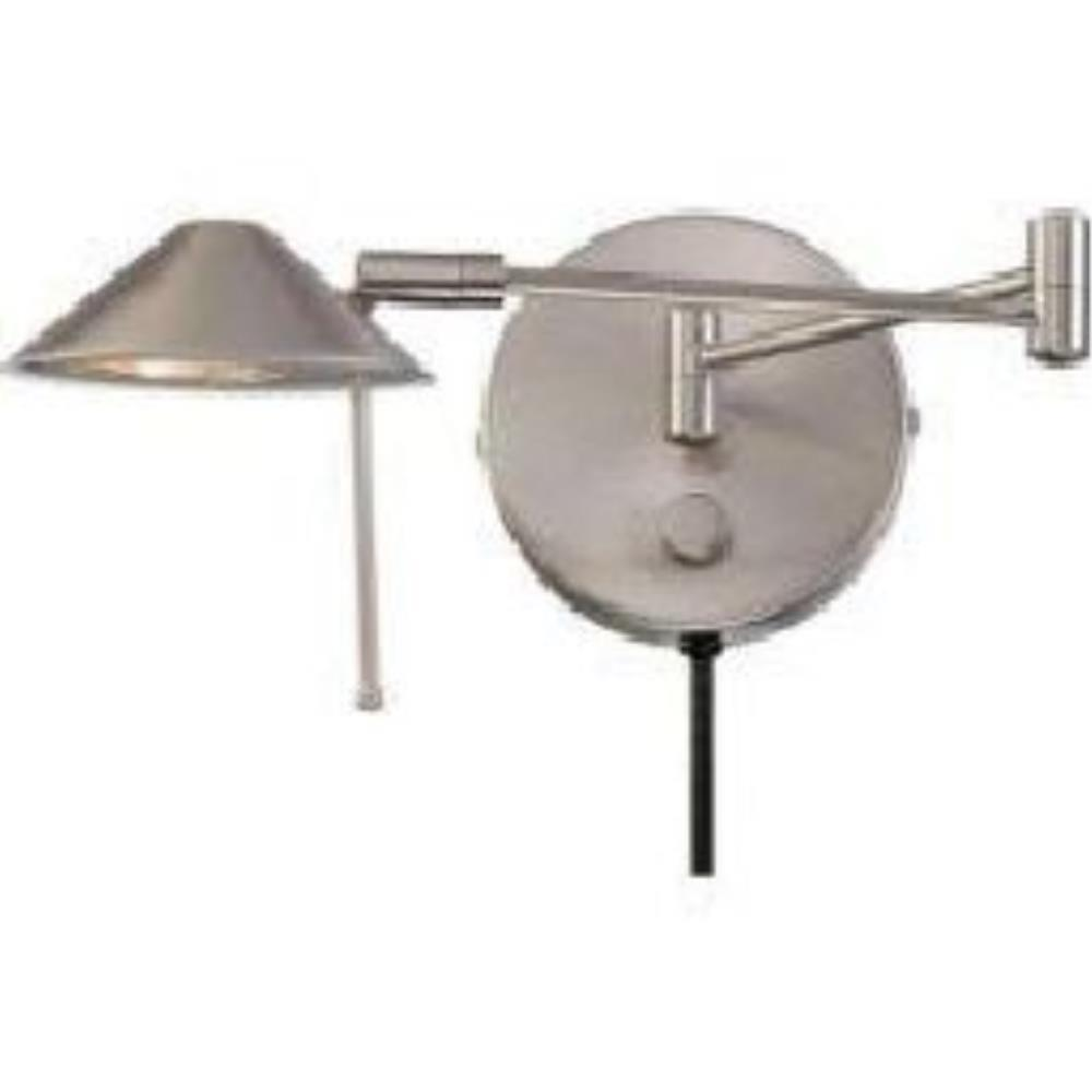 Rhine One Light Swing Arm Wall Sconce With Mirror