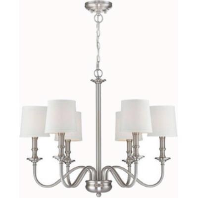 Lite source ls 19606 sampson six light chandelier mozeypictures Gallery