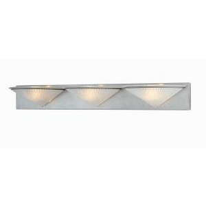Lite Source-LS-5163WHT-Three Light Wall Lamp  White