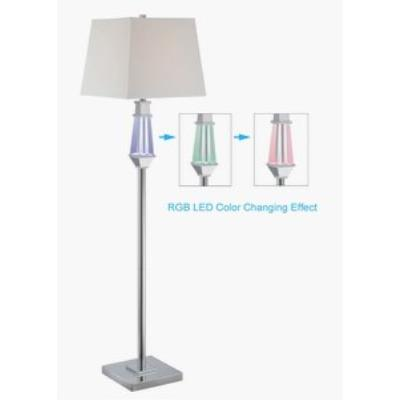 Lite source ls 81825 cicely two light floor lamp with led lite source ls 81825 cicely two light floor lamp with led night light aloadofball Choice Image