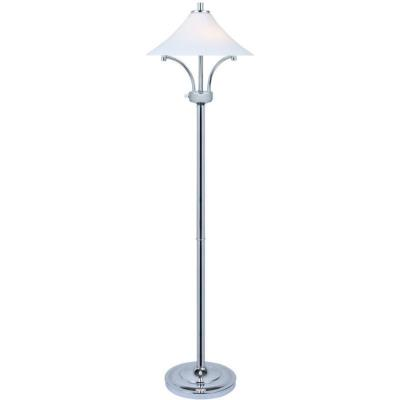 Lite source ls 82229 ragnar two light floor lamp aloadofball Choice Image
