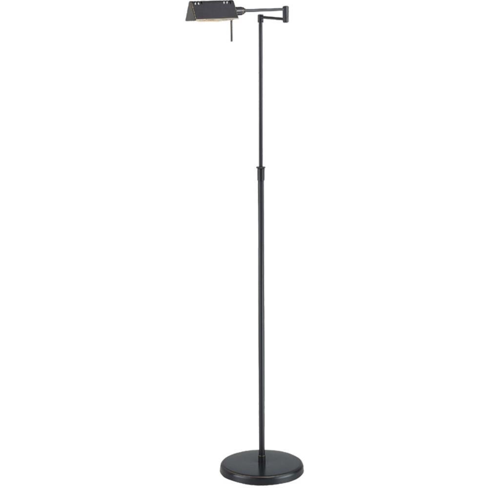 Lite source ls 960d brz pharma halogen floor lamp
