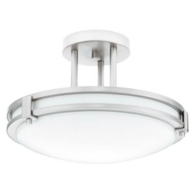 Lithonia Lighting 11750 BN Saturn - One Light Convertible Flush Mount