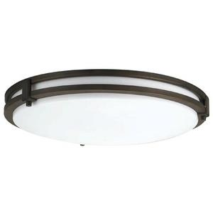 Saturn - Two Light Convertible Flush Mount