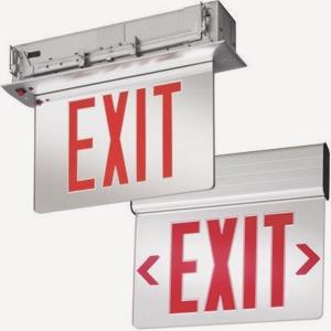 "13"" 3W Two Sided LED Emergency Exit Sign"