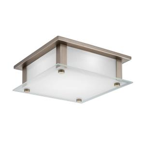 "Rao - 9.5"" 16W LED Square Flush Mount"