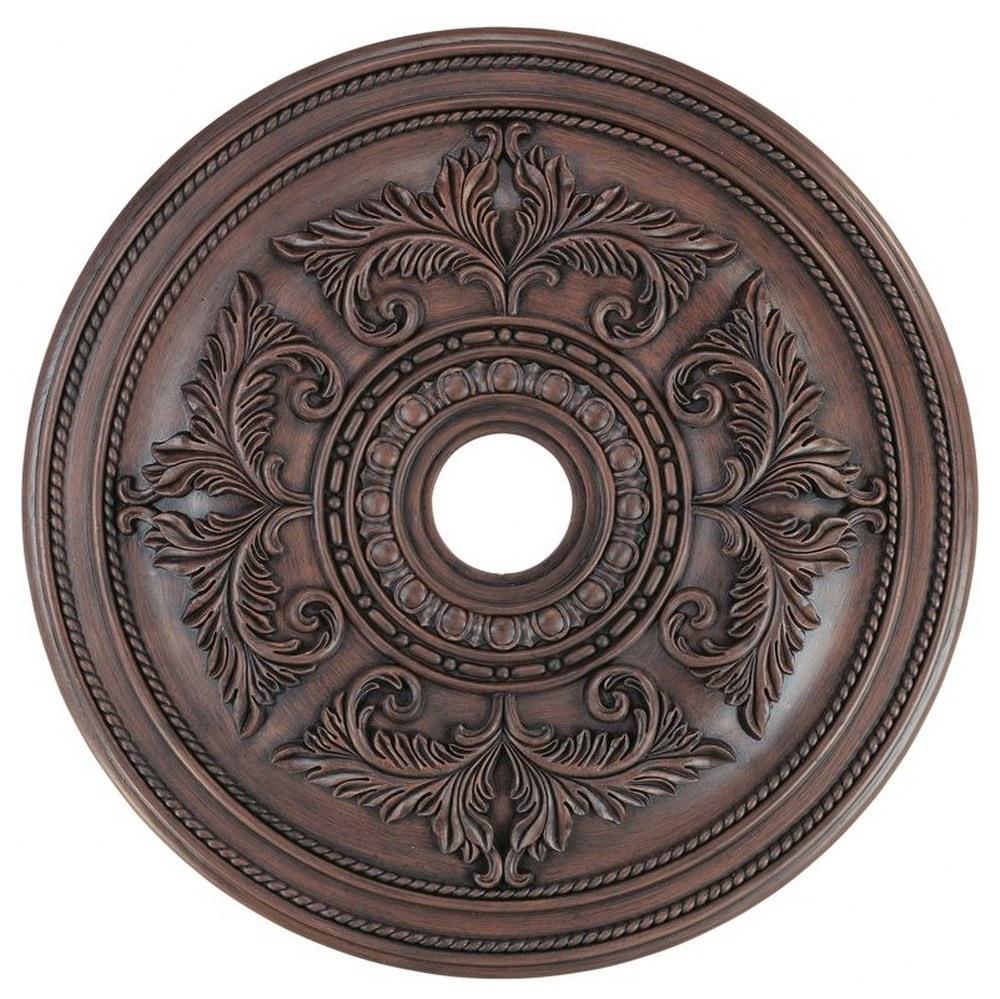 Livex Lighting-8210-58-Versailles - 30.5 Inch Ceiling Medallion  Imperial Bronze Finish