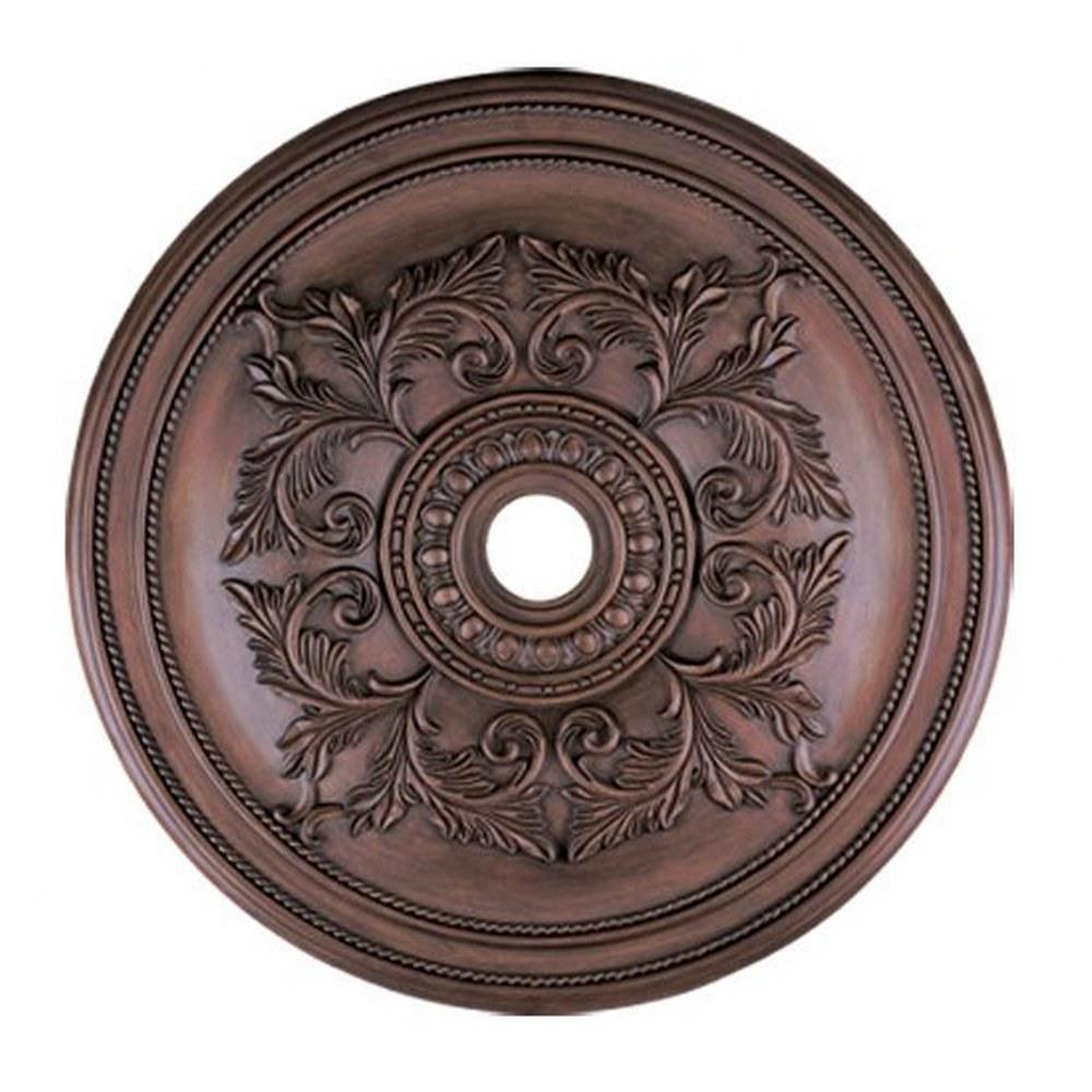 Livex Lighting-8211-58-Versailles - 40.5 Inch Ceiling Medallion  Imperial Bronze Finish