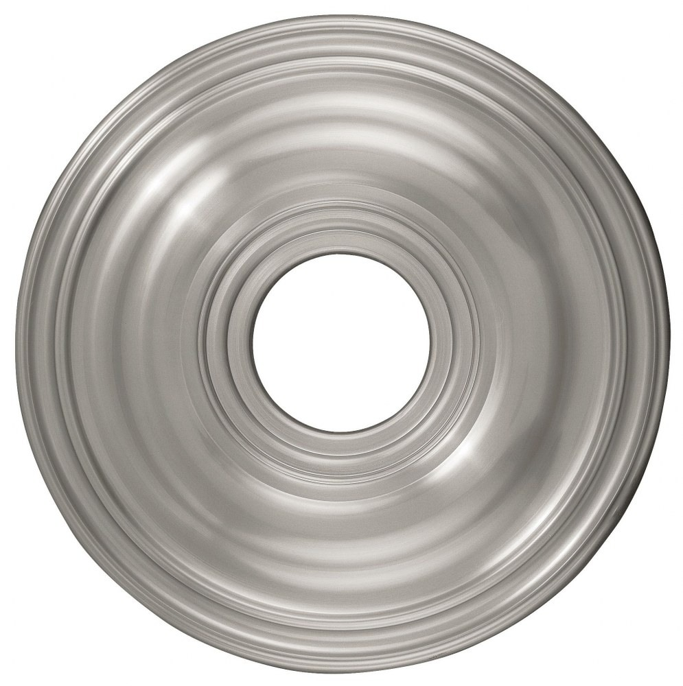 Livex Lighting-8217-91-Accessory - 16 Inch Ceiling Medallion  Brushed Nickel Finish