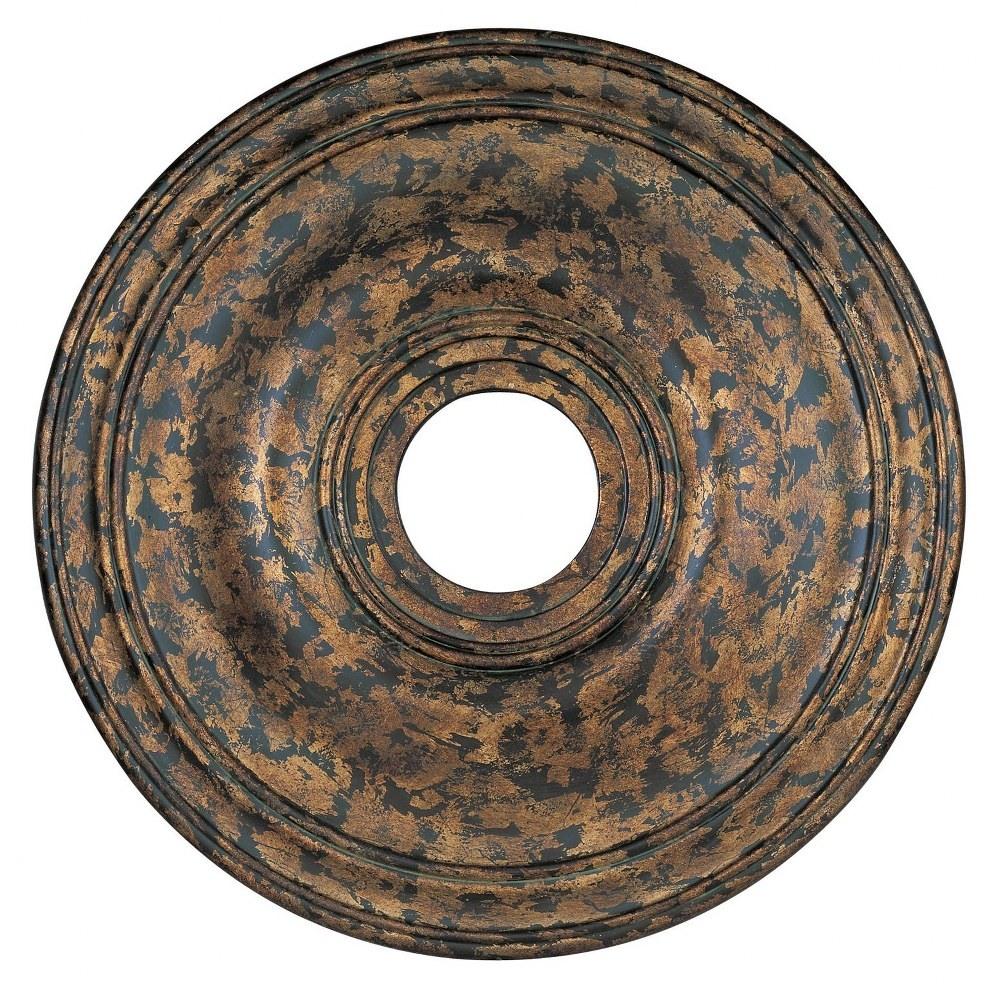 Livex Lighting-8219-71-Accessory - 20 Inch Ceiling Medallion  Hand Applied Venetian Golden Bronze Finish