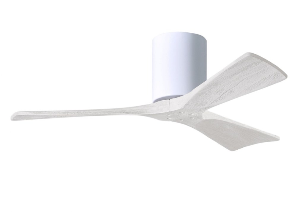 Matthews Fans-IR3H-WH-MWH-42-Irene - Ceiling Fan Matte White 42 inchesGloss White Finish