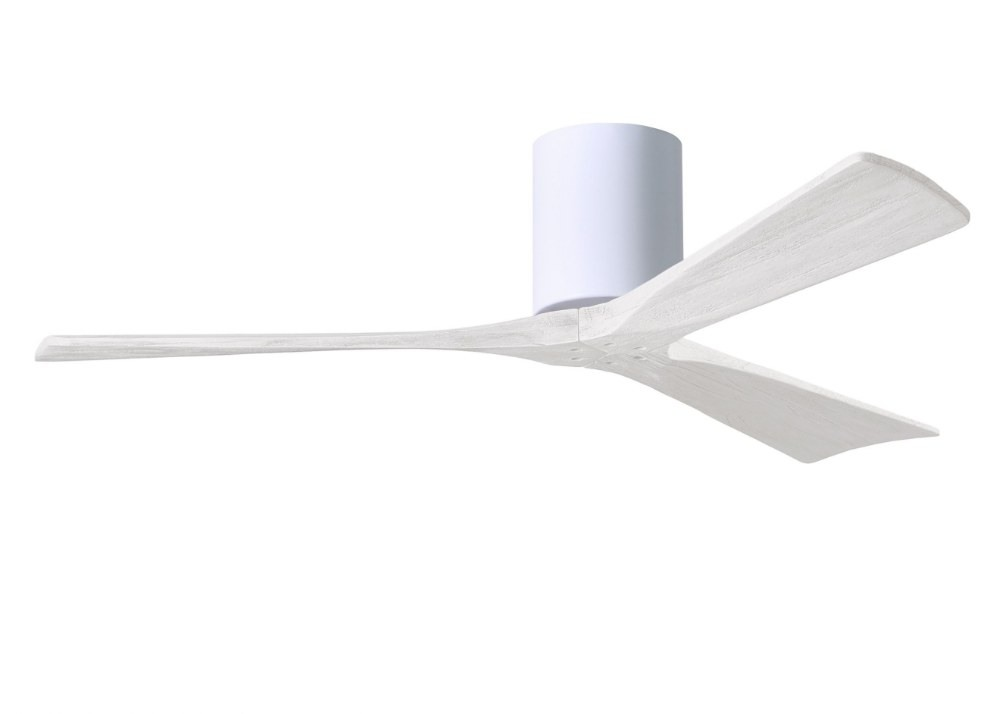 Matthews Fans-IR3H-WH-MWH-52-Irene - Ceiling Fan Matte White 52 inchesGloss White Finish