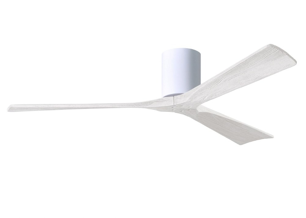 Matthews Fans-IR3H-WH-MWH-60-Irene - Ceiling Fan Matte White 60 inchesGloss White Finish