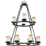 12 Light Chandelier - 10977WSOI