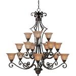 15 Light Symphony Chandelier - 11239SAOI