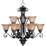 Symphony - Nine Light Chandelier - 11245SAOI