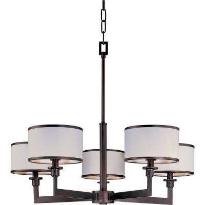 Maxim Lighting 12055WTOI Nexus - Five Light Chandelier