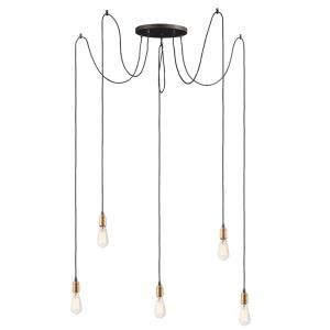 Early Electric - Five Light Pendant
