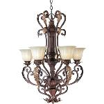 Augusta - Five Light Chandelier - 13565CFAF