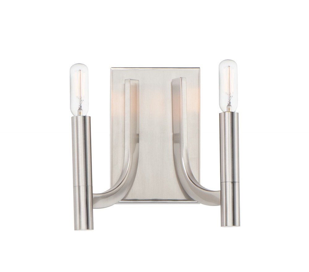 Maxim Lighting-21522SN-Lyndon - 2 Light Wall Sconce  Satin Nickel Finish