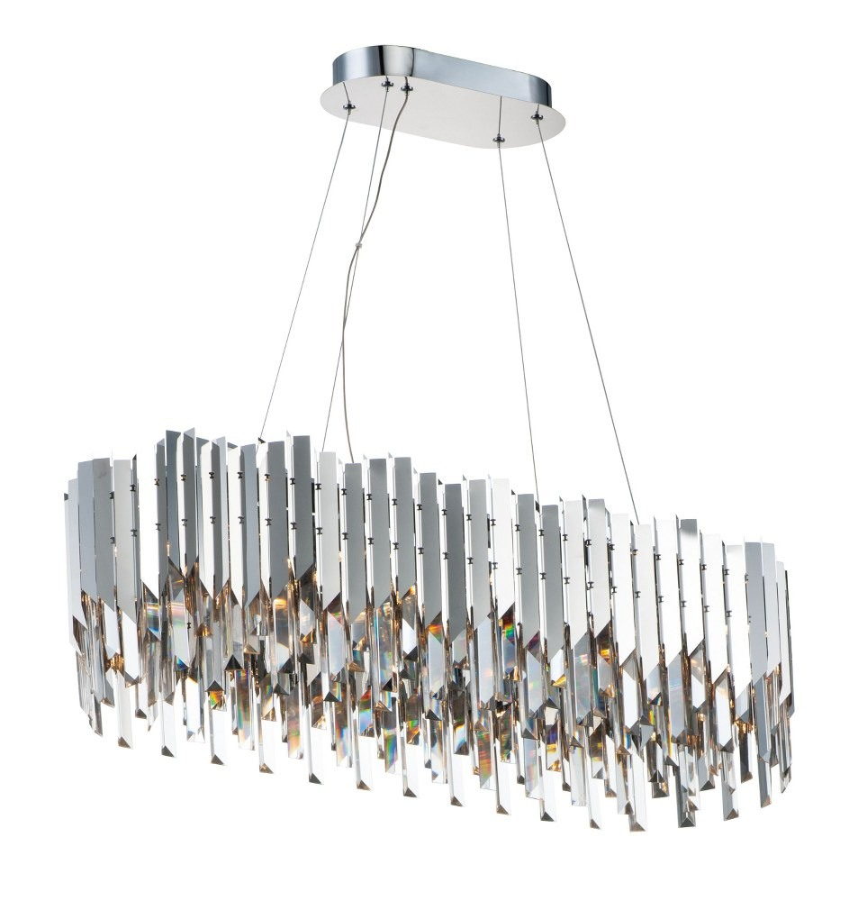 Maxim Lighting-40309BCPC-Paramount - 36 Inch 84W 12 LED Chandelier  Polished Chrome Finish