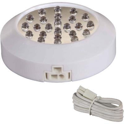 "Maxim Lighting 87881WT CounterMax MX-LD - 3.13"" 1.7W 24 LED Add-On UnderCabinet Disc"