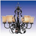 Aspen 6 Light Chandelier - 20607VAOI