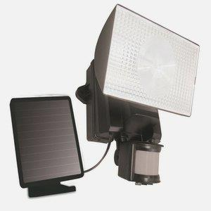 Solar-Powered Motion-Activated 50 LED Outdoor Security Flood Light